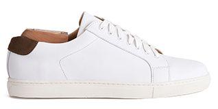 e79adefe0e6 Men s sneaker white leather vintage spirit Inglewood Bexley Hommes