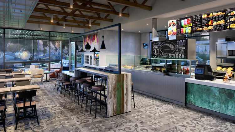 Taco Bell S New Stores Mix Barcelona Chairs With 7 Layer Burritos