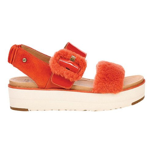 2ae0aa6ec80 Le Fluff Platform Slingback in 2019 | Products | Sandals, Uggs, Shoes