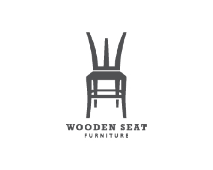 Logo Design Wooden Seat Chair Logo Pinterest Logos and Design
