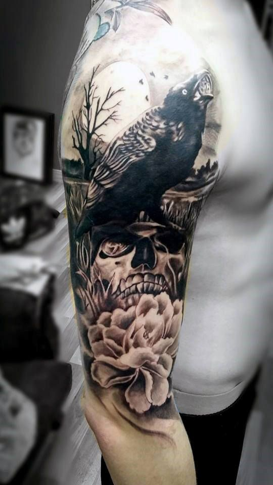 3b5e5b221f853 Top 50 Best Arm Tattoos For Men - Bicep Designs And Ideas   tattoos ...