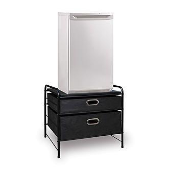 Bintopia Mini Fridge Tv Storage Cart Black 1 Dorm Goals