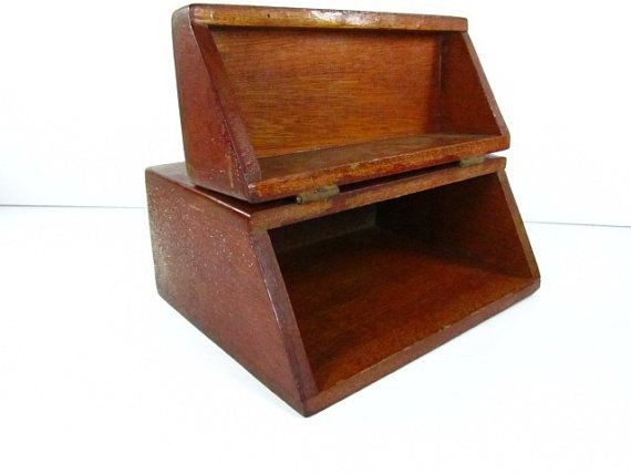 Wooden Decorative Boxes Vintage Wood Box Decorative Box Rustickarenschicnshabby  Etsy
