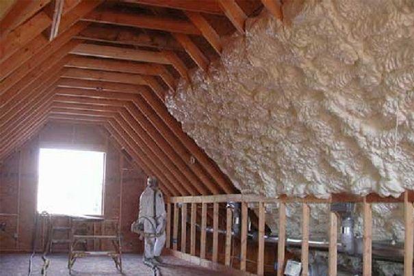 Icynene 3rings Attic Remodel Attic Flooring Attic Design