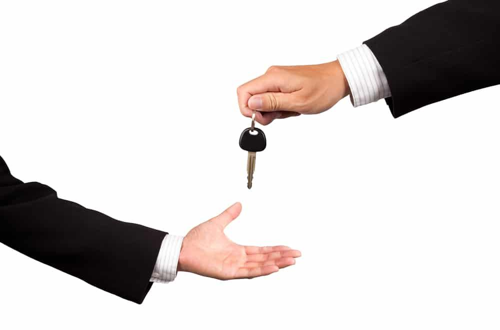 Contract for selling a car privately