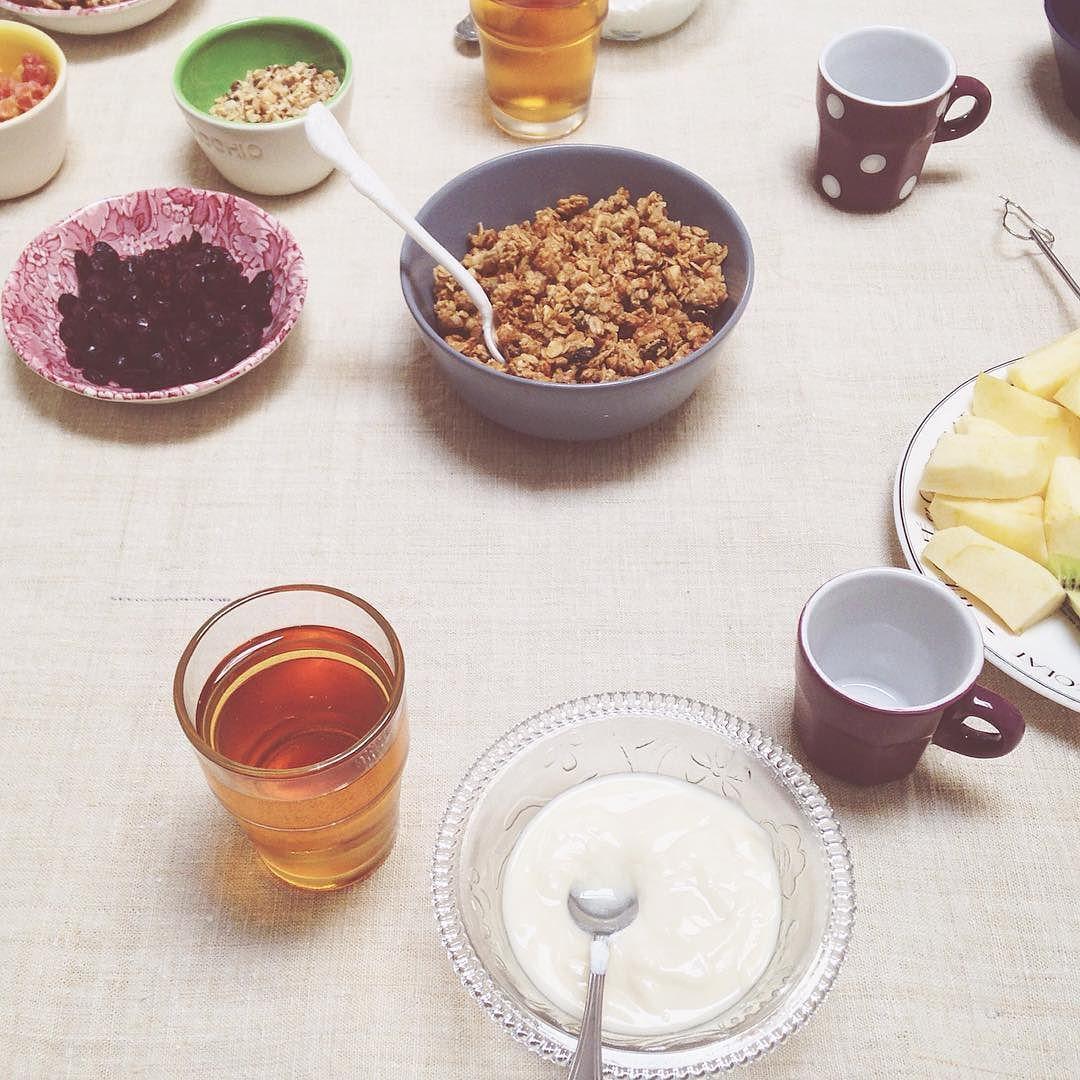 La colazione secondo me.