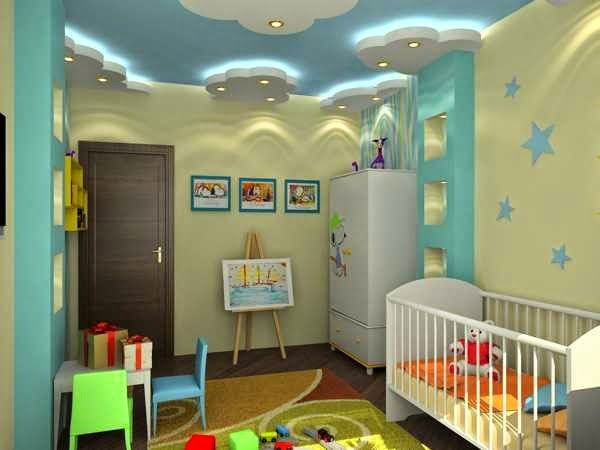 Top Ideas Unique Ceiling Decoration For Kids Room Nursery Designs With Lighting