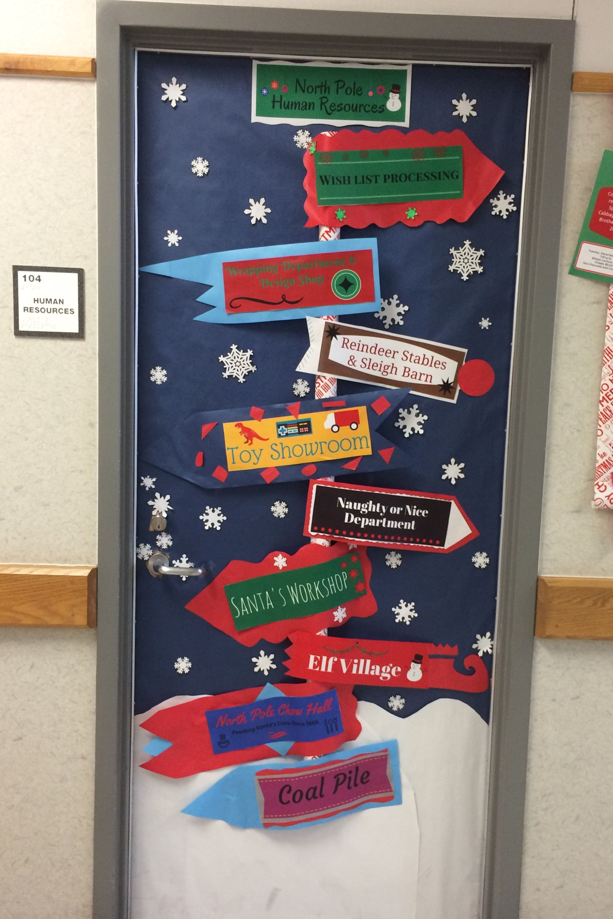 Door Decorating Human Resources Department Del Valle Isd