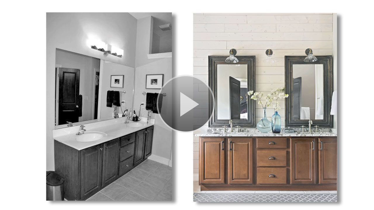 Watch Bathroom Remodel For Under In The Better Homes And - $5000 bathroom remodel