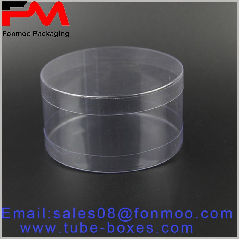 Large food Grade Clear Plastic Tube boxes for candy、chocolate
