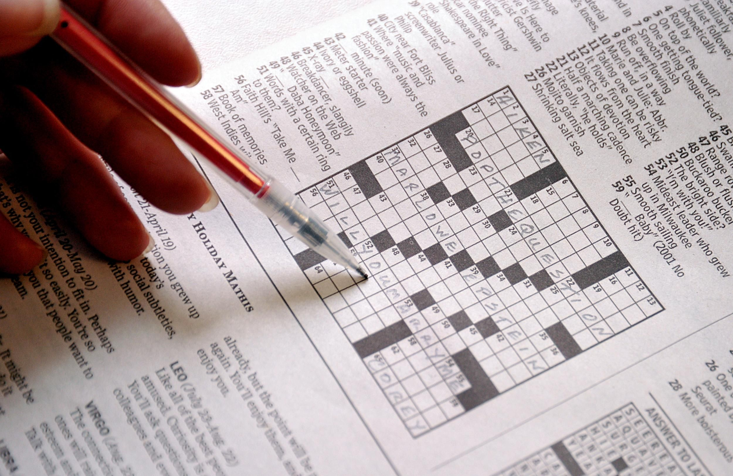 Woman fills in crossword at museum only to find out it's