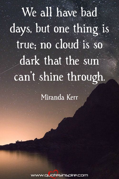 Cloud Quotes Cool 10 Inspirational Quotes Of The Day  Miranda Kerr Inspirational