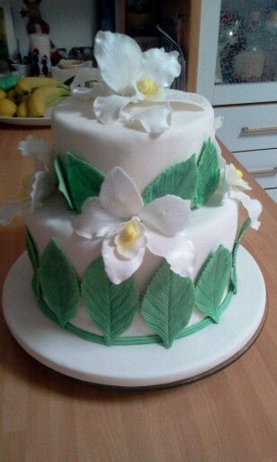 first orchid cake