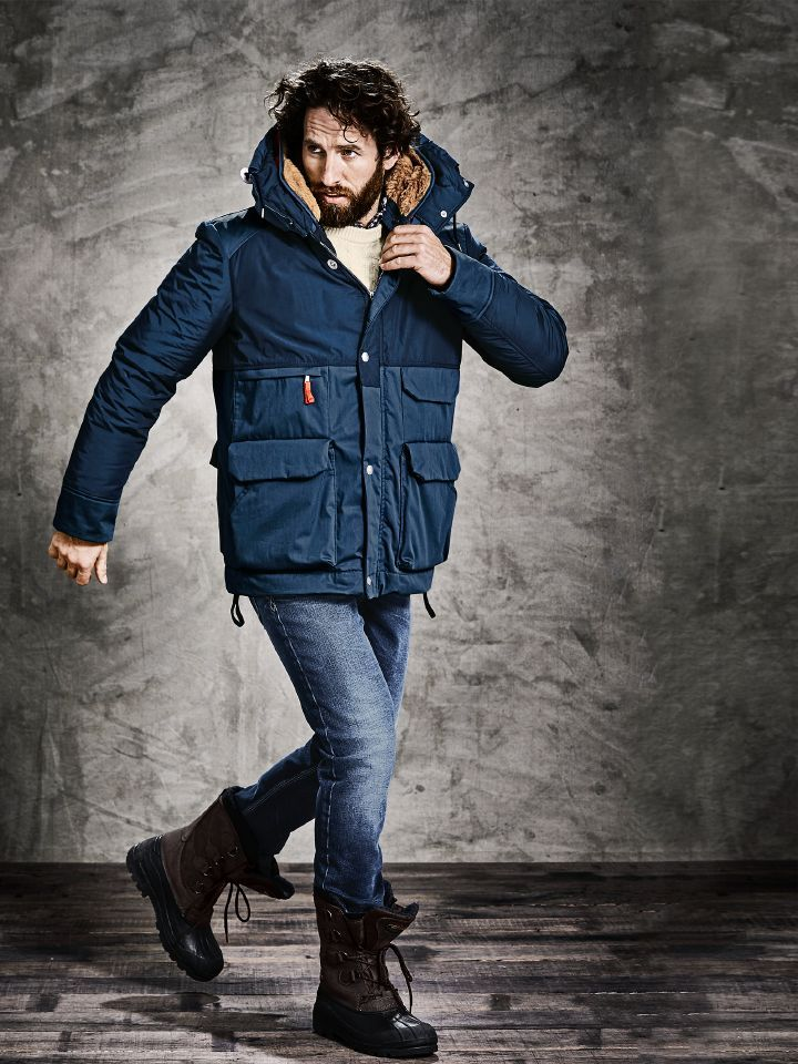 low priced bb92d ead1e Metro Mountain-Parka | Männermode | Parka, Winter jackets ...