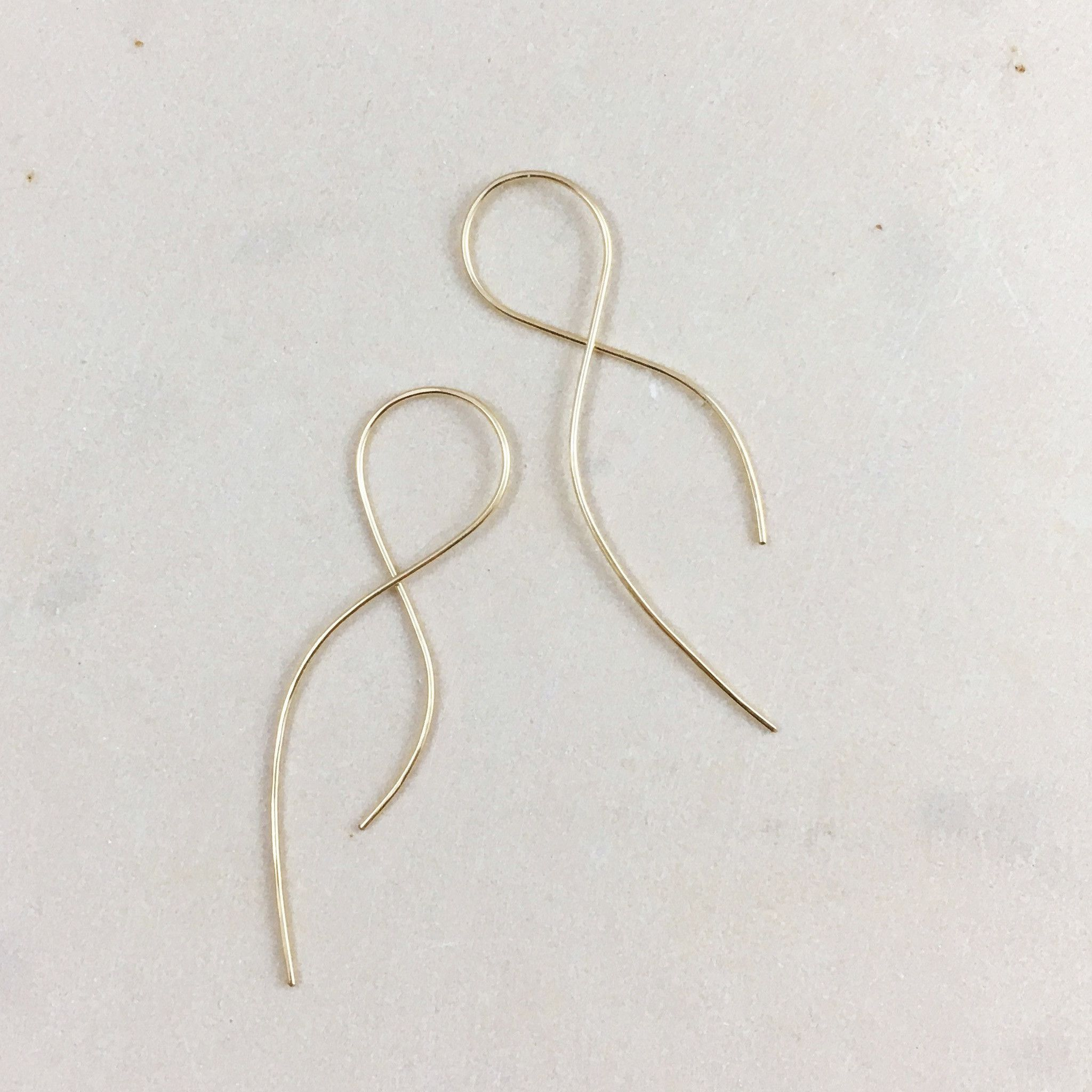 dangle sterling silver earrings infinity in