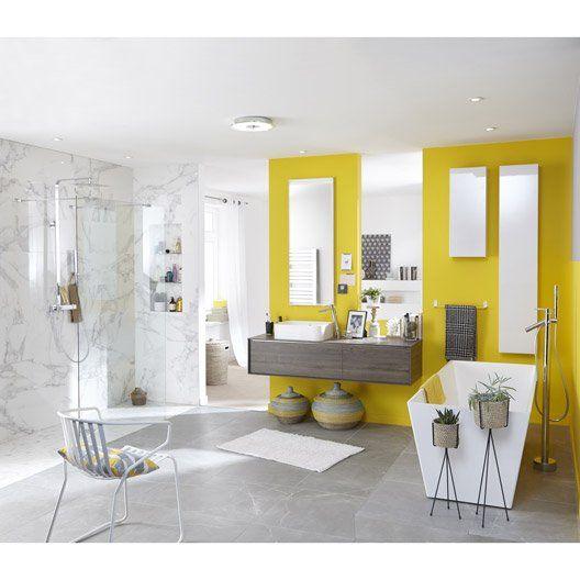 Miroir avec éclairage intégré l450 cm, SENSEA Neo cloweeda - leroy merlin meuble salle de bain neo