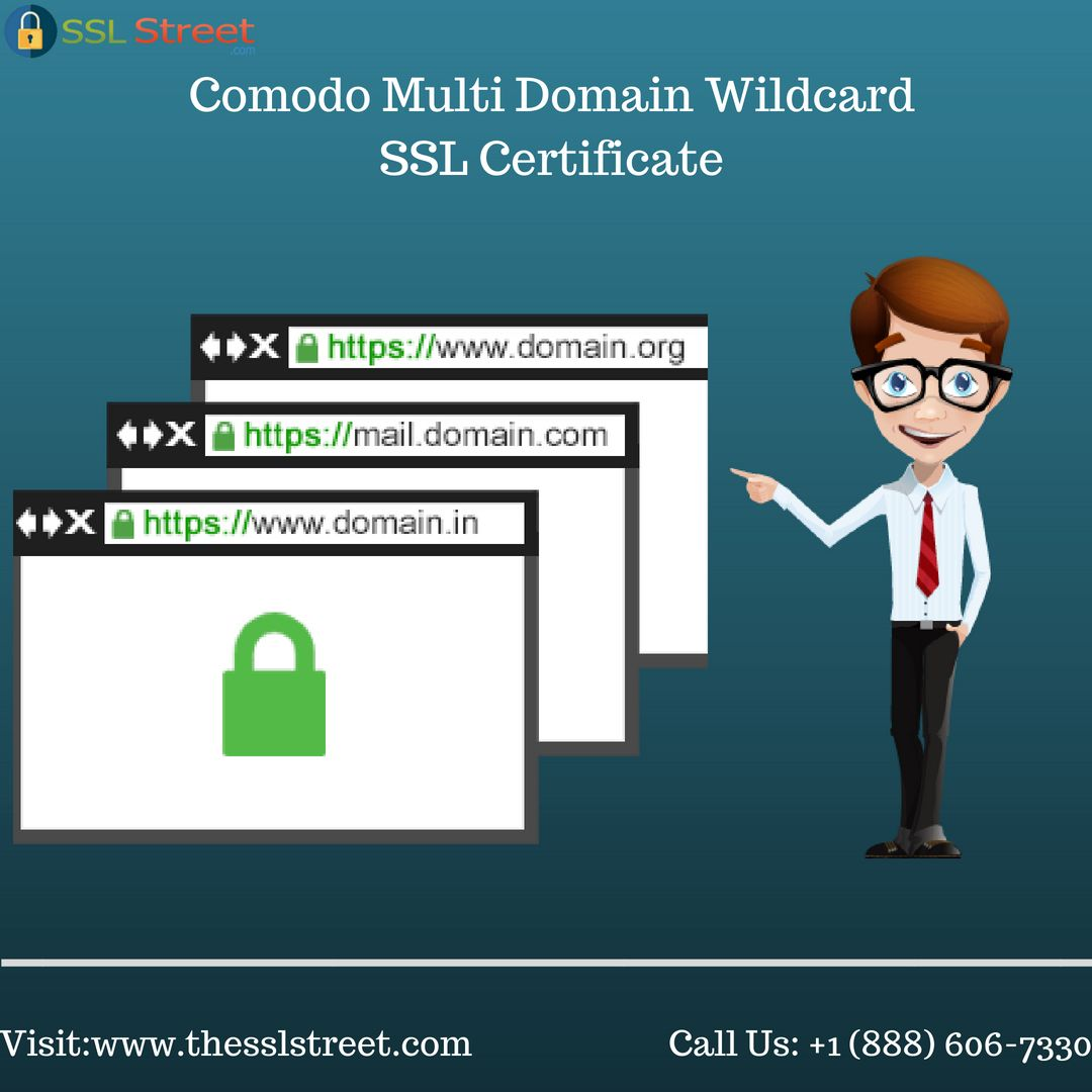 This Certificate Is Combined Options Of Each Wildcard Ssl And Multi