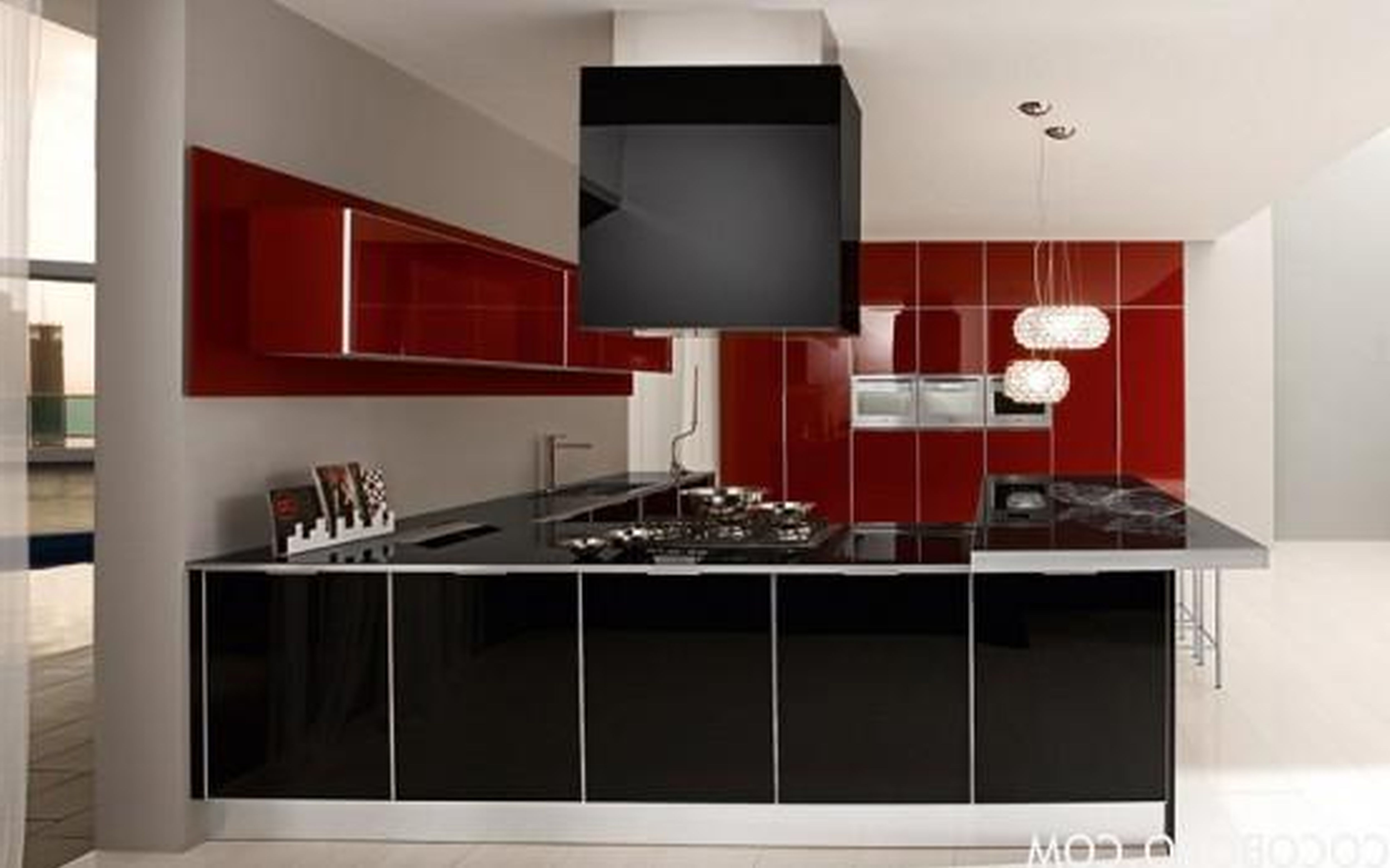 Best Apartments Inspiration Decoration Wondrous Red And Black 400 x 300