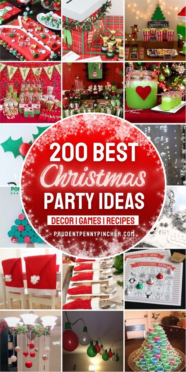 2020 Best Christmas Party Ideas 200 Best Christmas Party Ideas in 2020   Christmas fun, Holiday