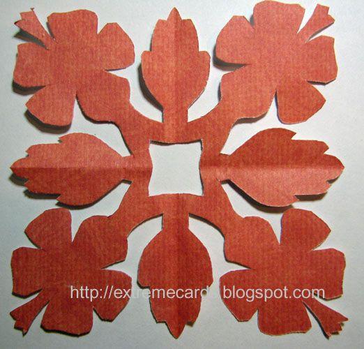 hawaiian quilt card | sewing | Pinterest