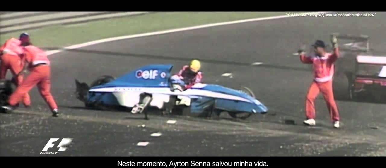 Campanha da Allianz – Meu Momento Senna meumomentosenna #Senna