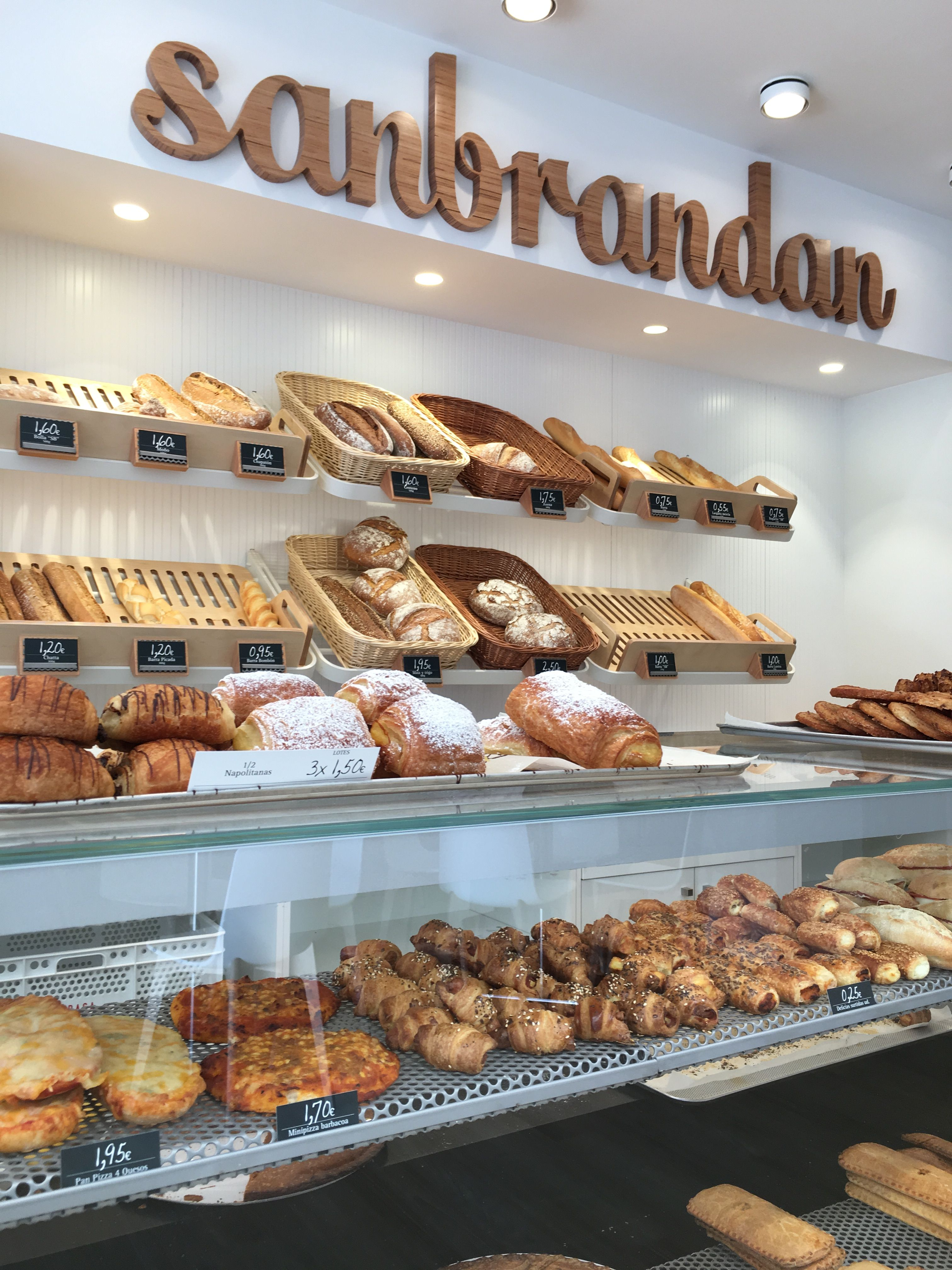 Detalle de dise o panaderia sanbrandan basedise o d a a for Tiendas de muebles para restaurantes