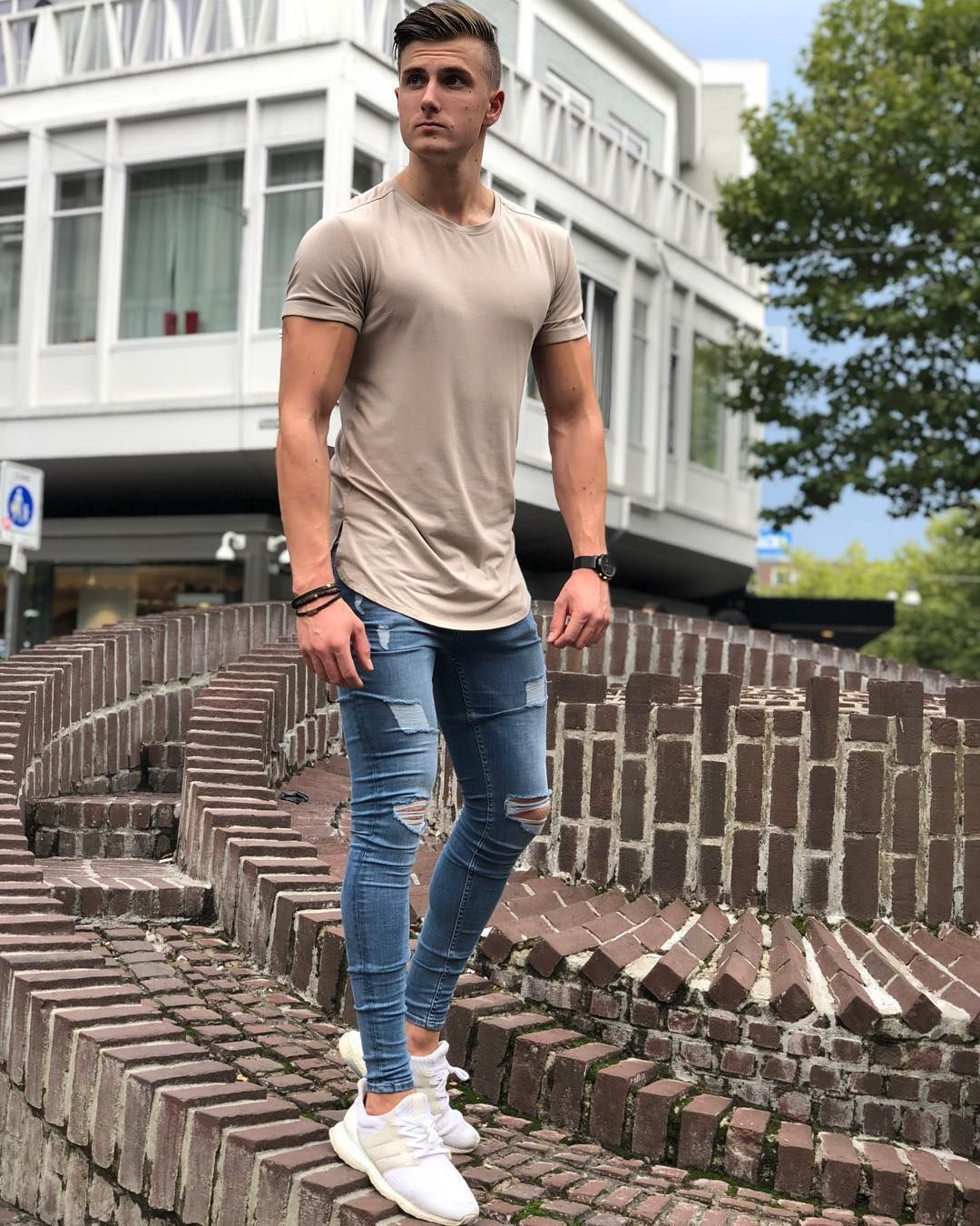 Jasper On Instagram Ho Ho Ho Wishing You A Merry Everyday And A Happy Always Hope Ya Ll Have A Nice Mens Outfits Urban Street Style Hot Jeans