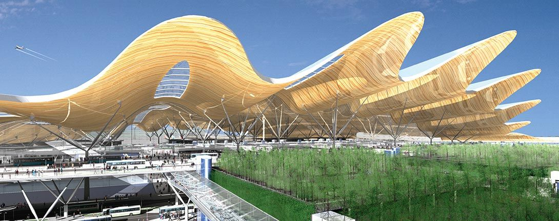 Pudong Airport Creative architecture, Airport design