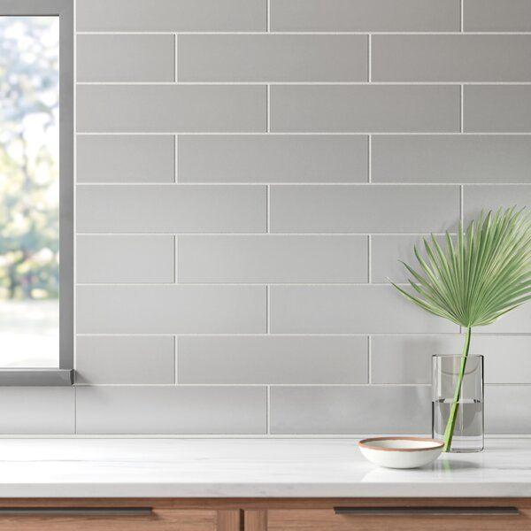 Dona 4 Quot X 16 Quot Ceramic Subway Tile In 2020 Gray Subway