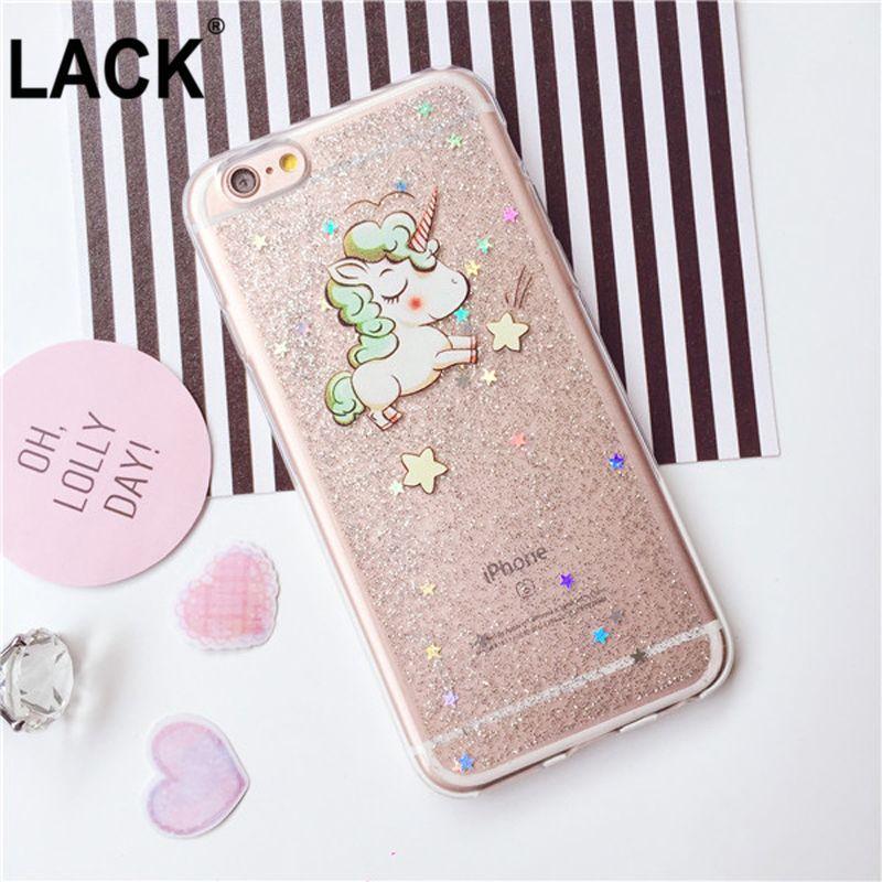 glitter unicorn iPhone 6/6s case