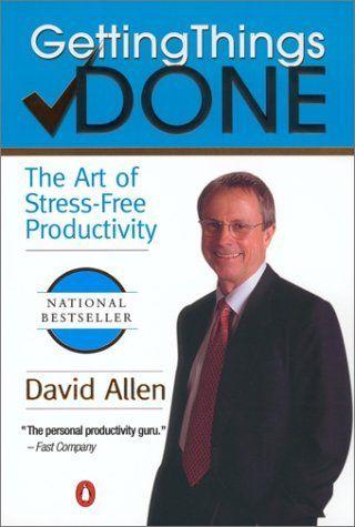 """Jedna z kníh, ktoré mi zmenili pohľad na život - David Allen """"Getting Things Done"""" ukazuje moderný pohľad na časový manažment a osobnú produktivitu. V spojení s aplikáciu OmniFocus pre iPhone a Mac sa stalo GTD neoddeliteľnou súčasťou môjho osobného aj pracovného časového plánovania. @gtdguy #gtd"""