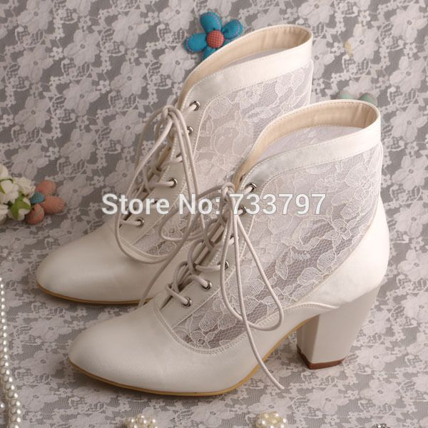 Cheap Lace Wedding Boots Buy Quality Directly From China Winter Suppliers