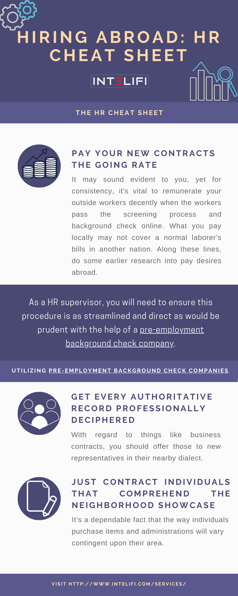 Hiring Abroad Hr Cheat Sheet In 2020 Employment Background Check Hiring Cheating