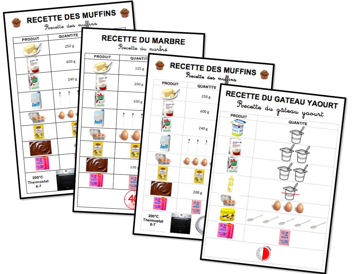 Recettes Des Maternelles Upe2a Alternative Education Kids Meals