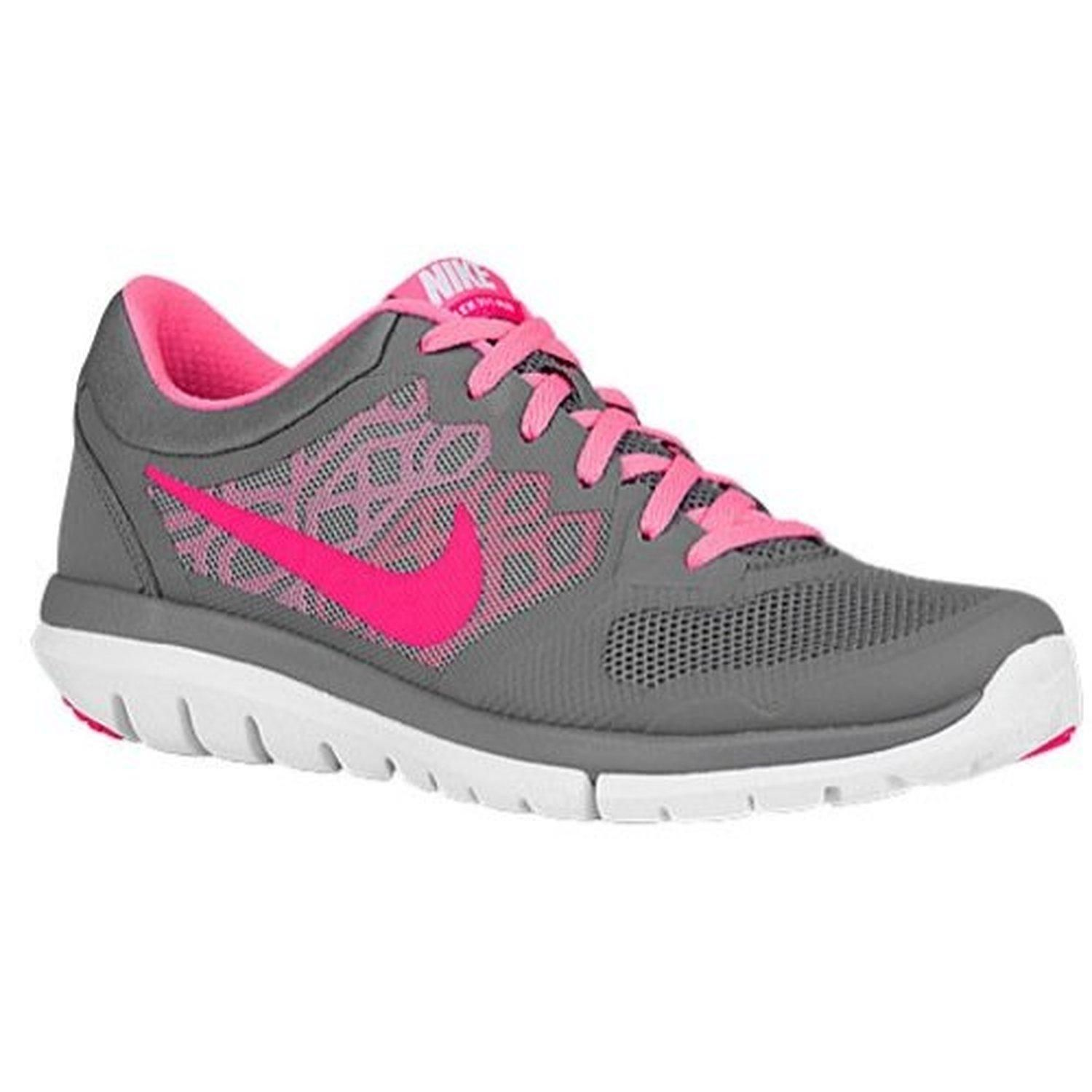 Nike Flex 2015 Rn Sz 5 Womens Running Shoes Grey New In Box - Brought to
