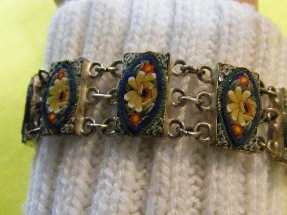 Classic  Vintage 1940s Mosiac Bracelet  by ladysslippervintage, $44.95