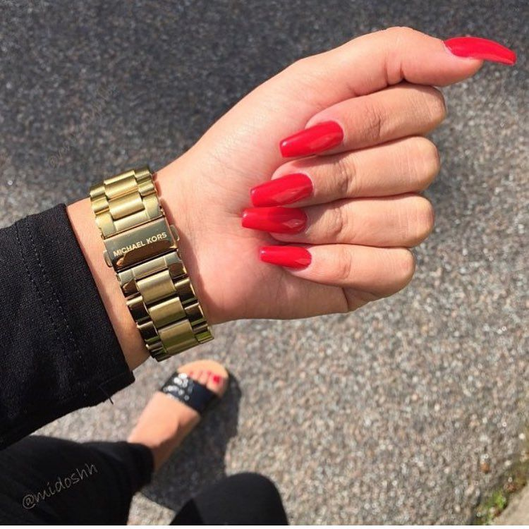 AliyaMadani | nails | Pinterest | Nuggwifee, Coffin nails and Nail nail