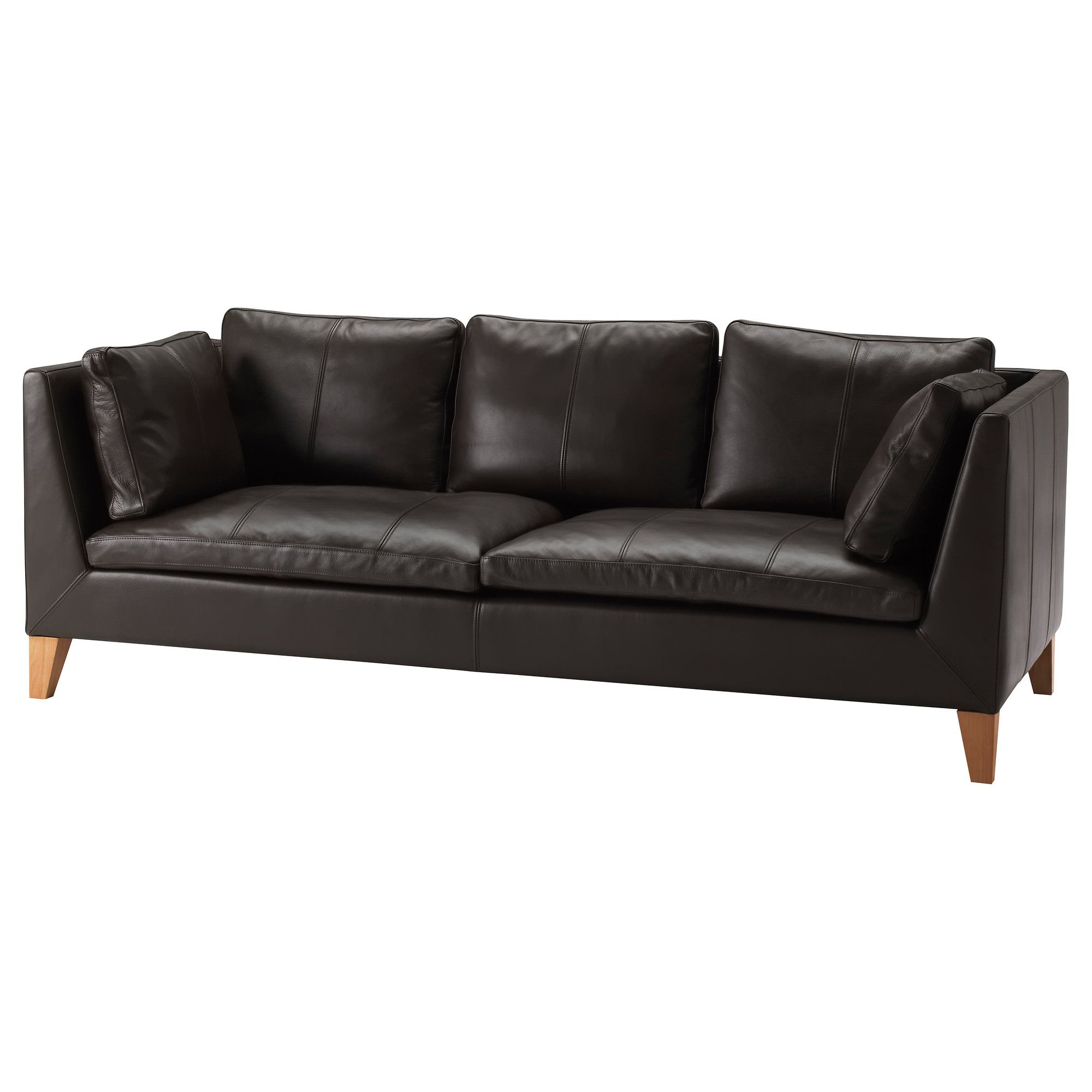 IKEA STOCKHOLM Sofa   Elegant Dark Brown   IKEA