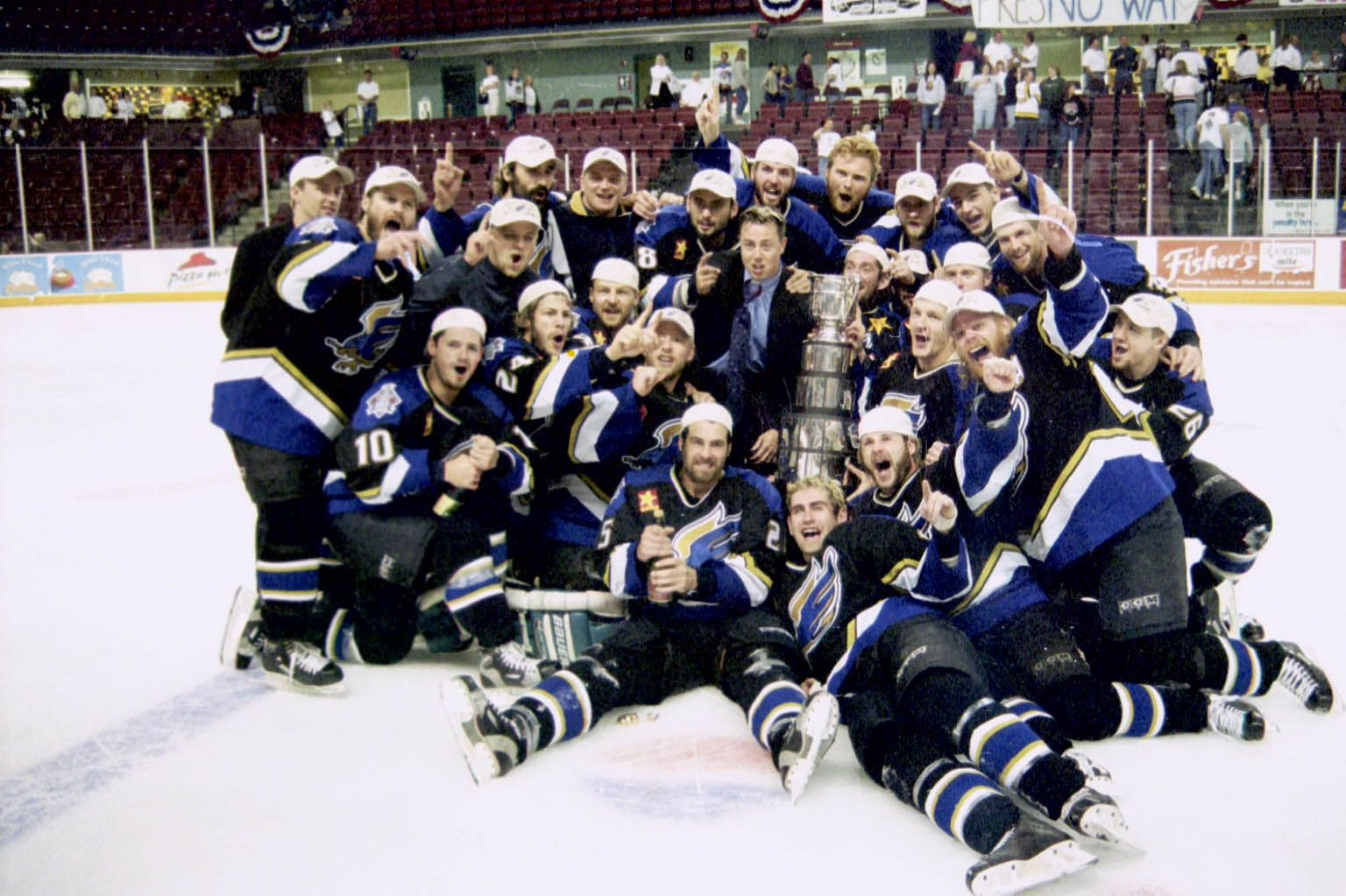 2002 Wchl Taylor Cup Champion Fresno Falcons Sports Team Champion Athlete