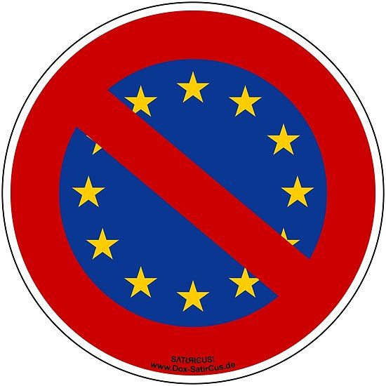 Eu Protest Brexit Als Aufkleber T Shirt Vieles Mehr