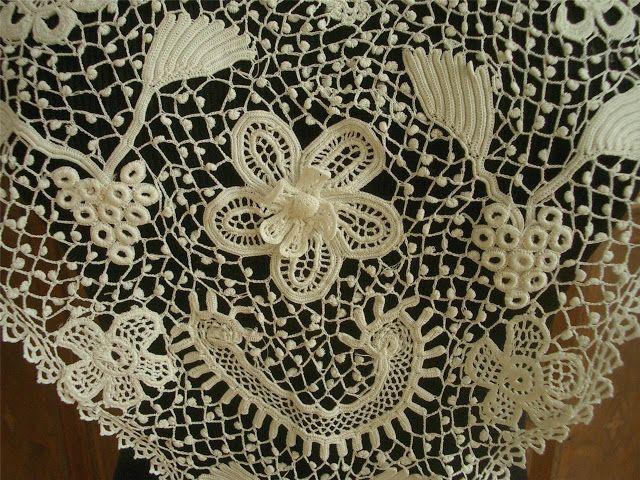 Irish Crochet Together: September 2012