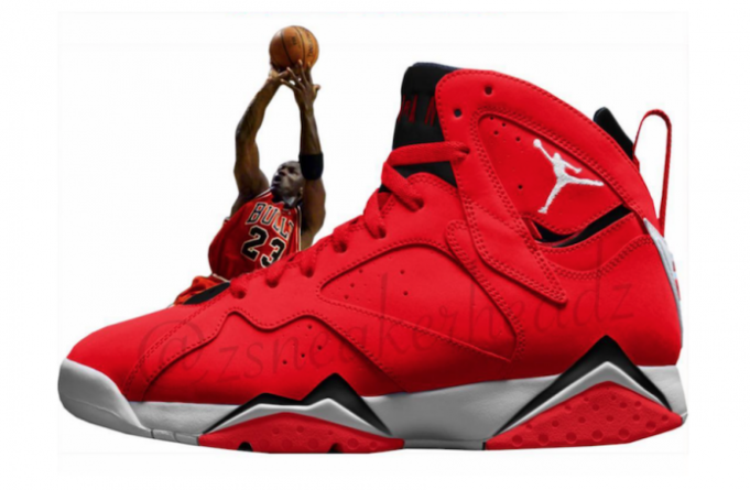 buy online 76d02 3483c Jordan Brand is planning on releasing an all-Red colorway of the Air Jordan  7