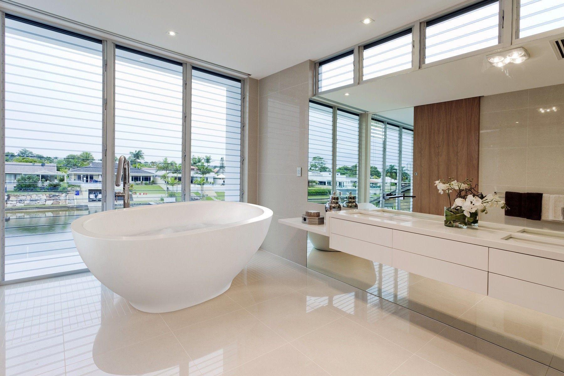 Treppe U Form Treppe U Form In 2020 Modern Bathroom