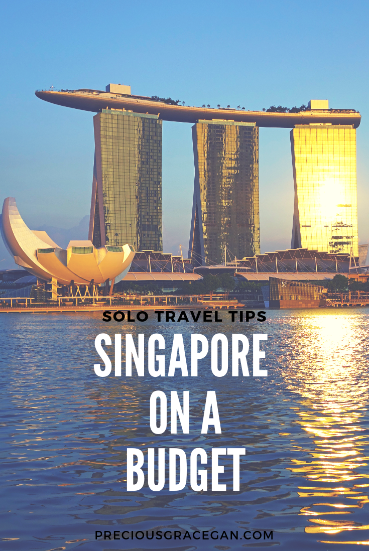 Top tips for solo travelers looking to explore Singapore on a budget. #SoloTravel #TravelTips #Singapore #BudgetTraveler