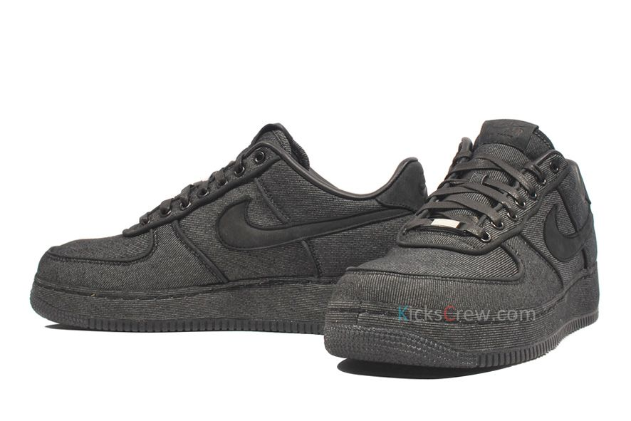 official photos 87ab3 50184 Kicks-Crew   Nike Air Force 1 Low PRM 30th Anniversary - Black Denim 520505