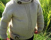 KNITTING PATTERN PDF sweater - knit pattern baby sweater - knit pattern Toddler sweater - boy sweater - girl sweater