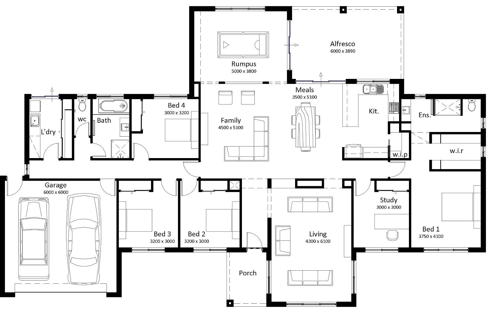 18 Lovely Australian Homestead Floor Plans Australian Homestead