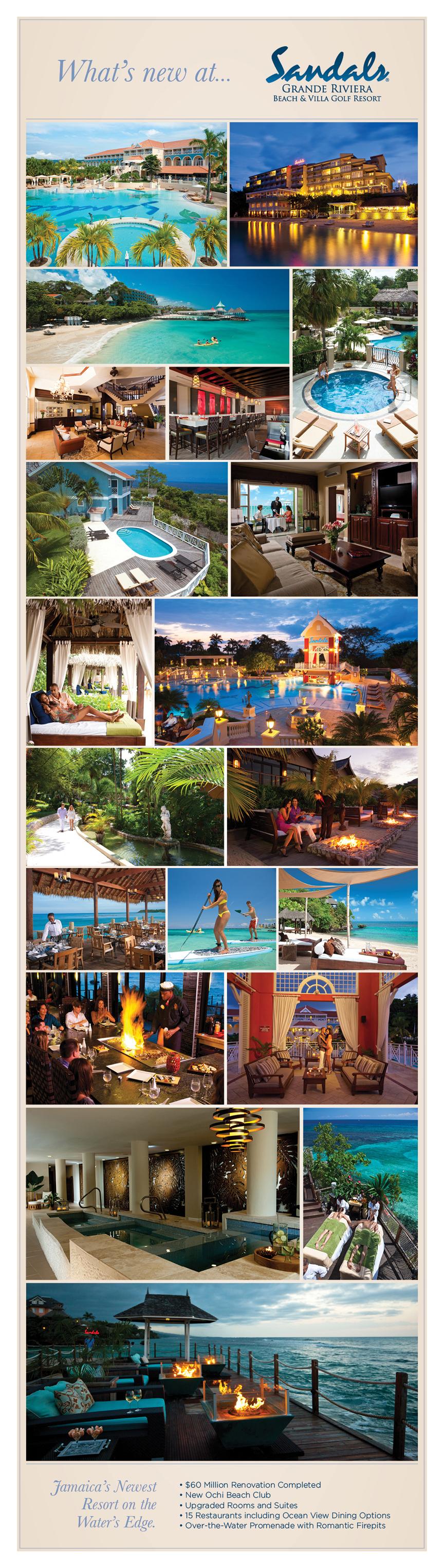 Beach wedding spots  Favorite resort in Jamaica  Sandals Grande Riviera  About me