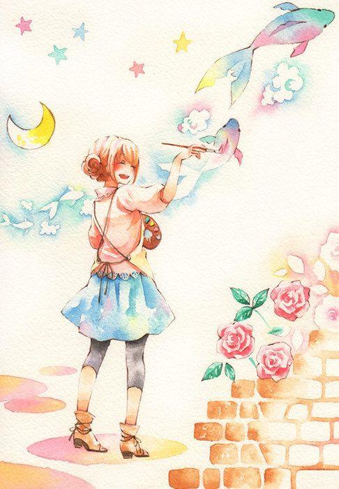 Added By Olive Kawaii Anime Anime Art Manga Art