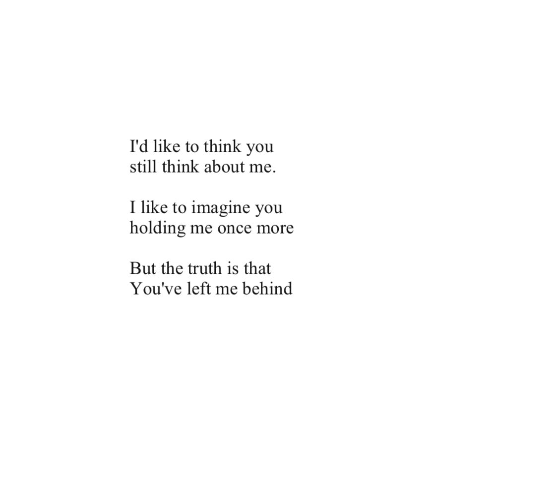 You Left Me You Destroyed Me You Left Me Quotes